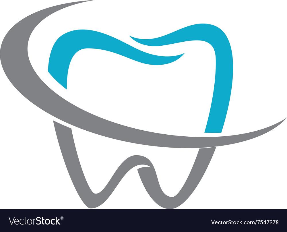 dental logo royalty free vector image vectorstock