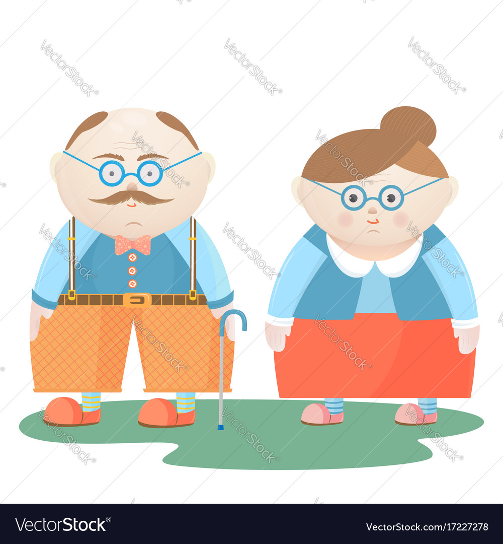 30819cb0eeb National grandparents day funny grandfather and Vector Image