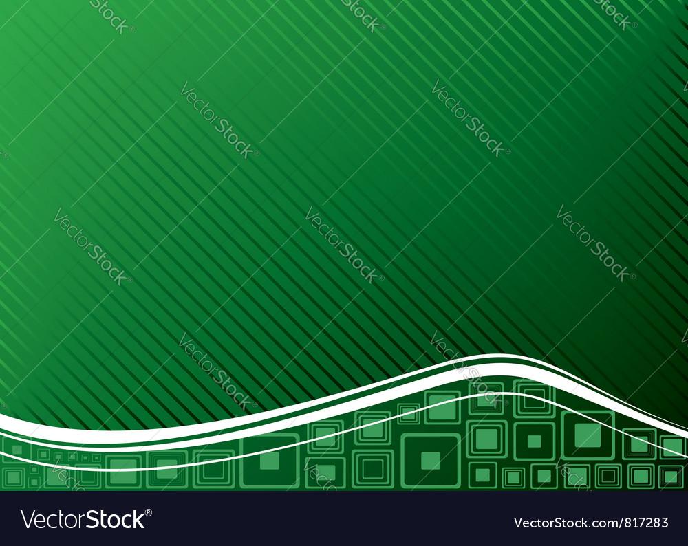 Ecology concept green vector image