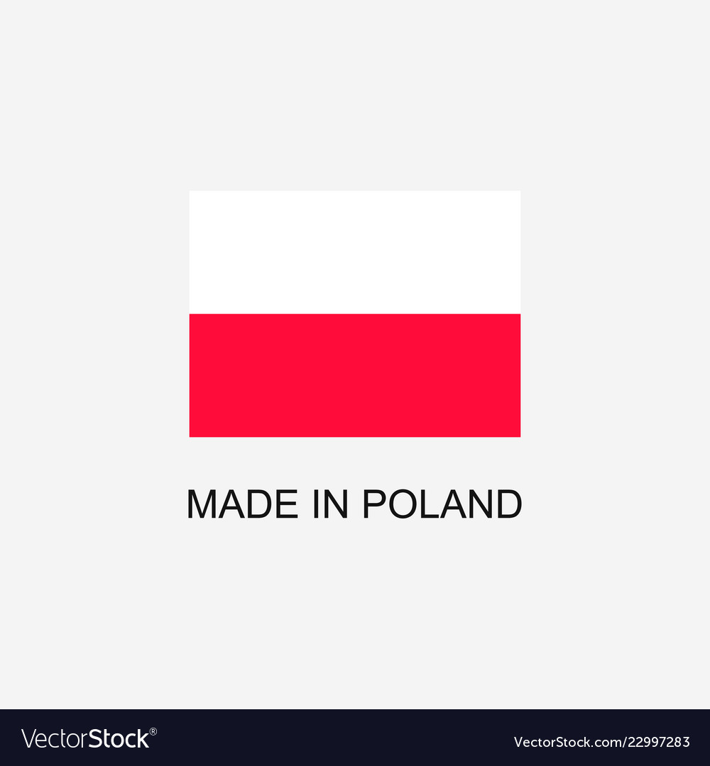 Made in poland sign