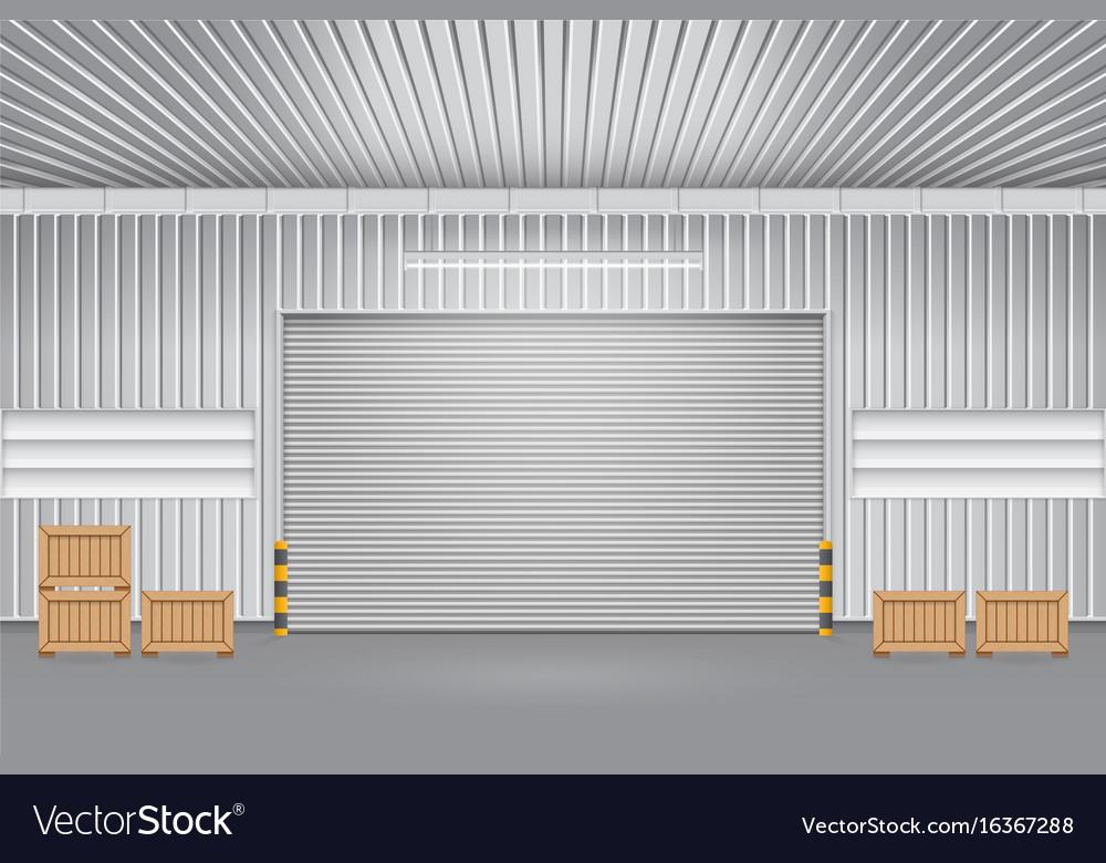 Bon Shutter Door Vector Image