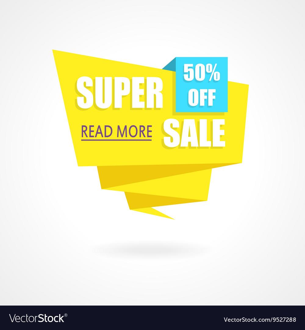 Super Sale Weekend special offer poster banner