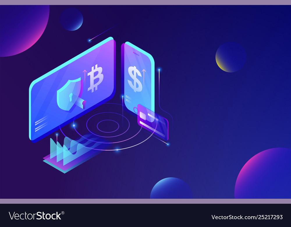 Online cryptocurrency exchange platform service