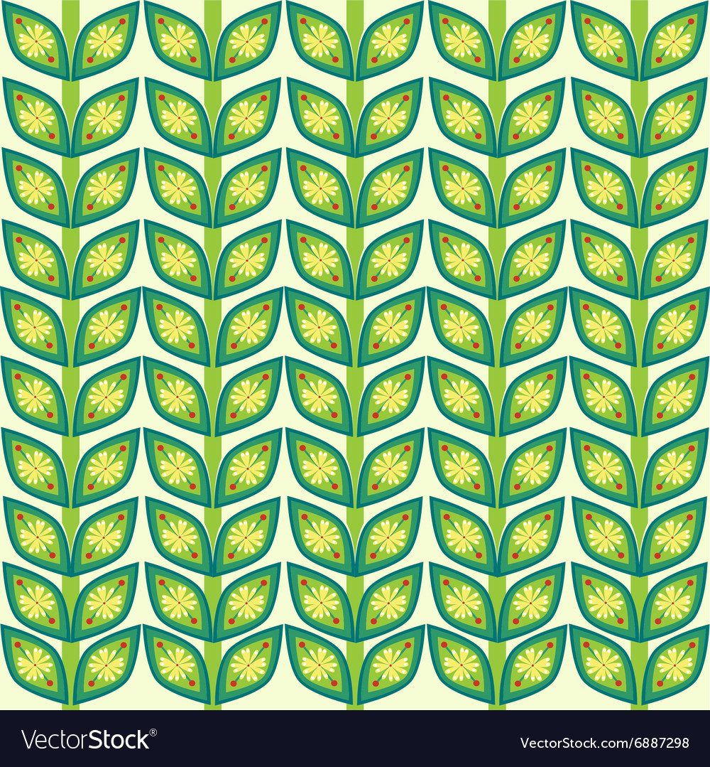 Leaves plant pattern background