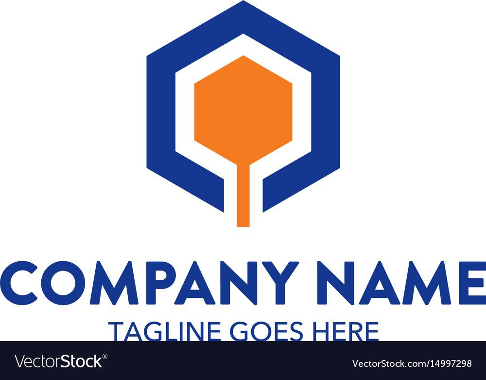 Unique automotive logo template