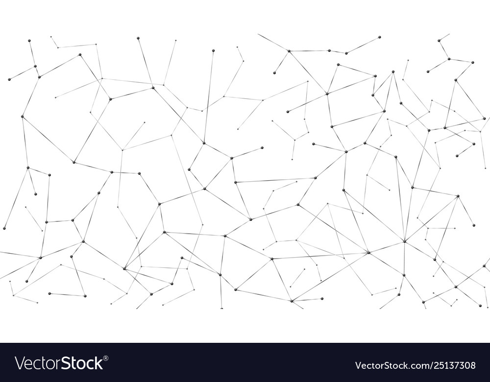 Abstract particle background mess network nodes