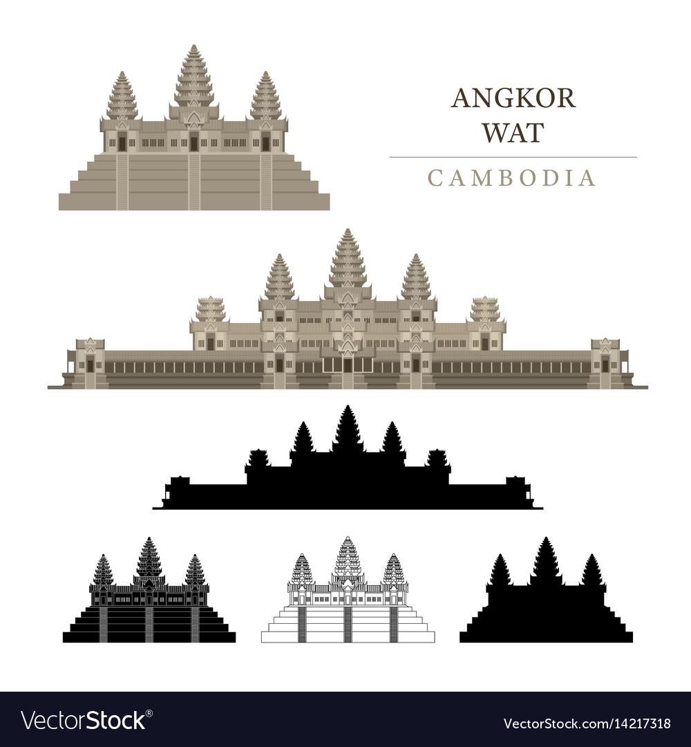 192 angkor wat stock vector illustration and royalty free angkor.