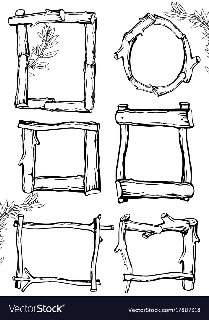 Frames of branches 2