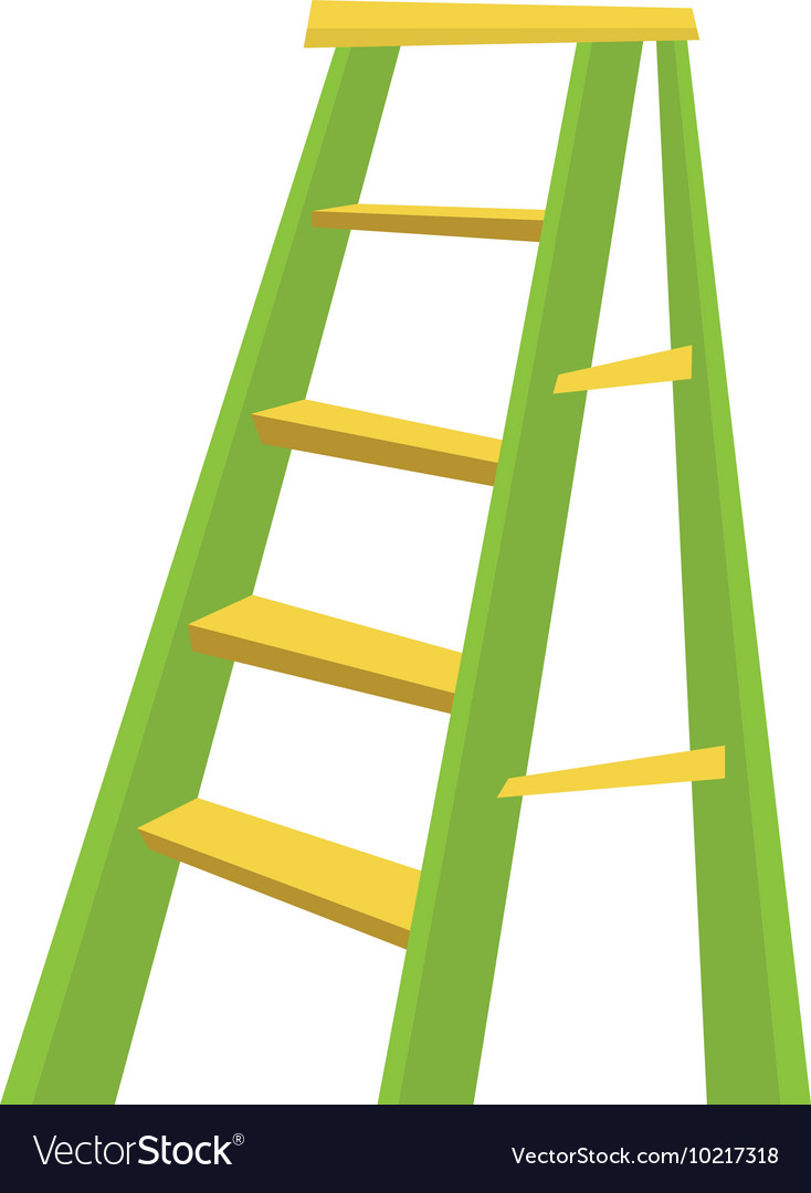 Metallic step ladder
