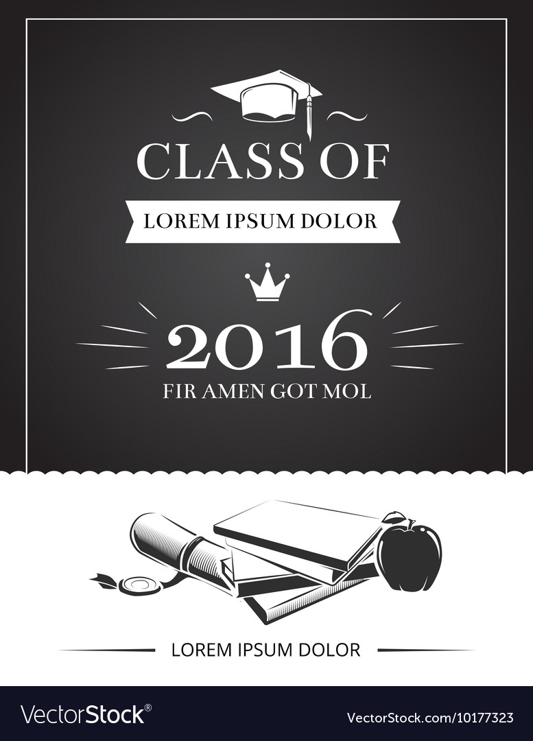 Graduation party invitation card royalty free vector image graduation party invitation card vector image filmwisefo