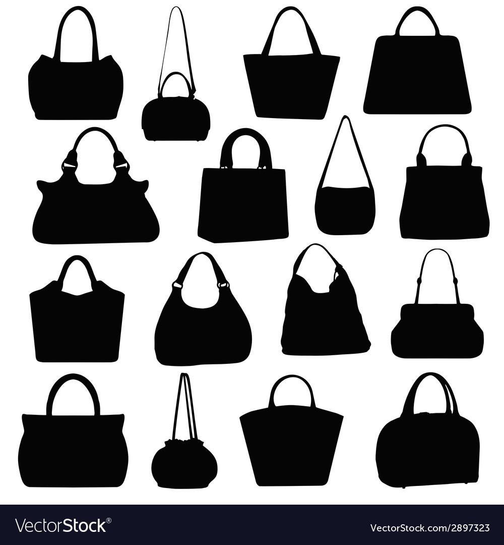 Handbags Royalty Free Vector Image