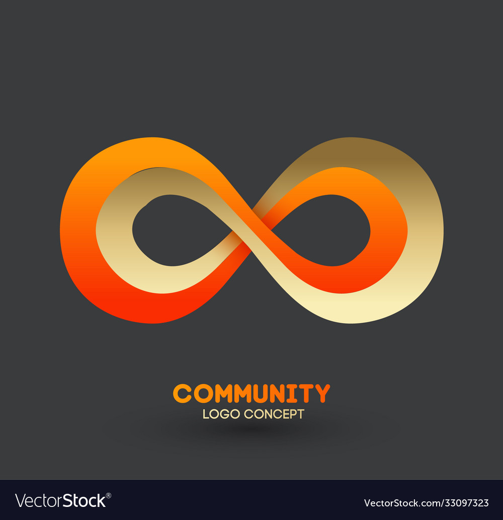Logo connecting people logo design company