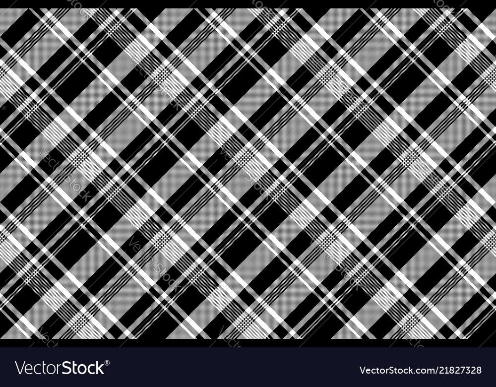 Black white pixel fabric texture seamless pattern