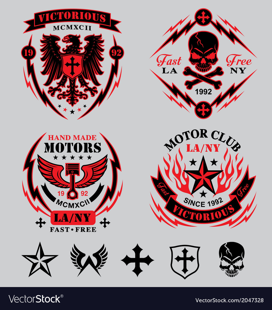 Motorcycle emblems
