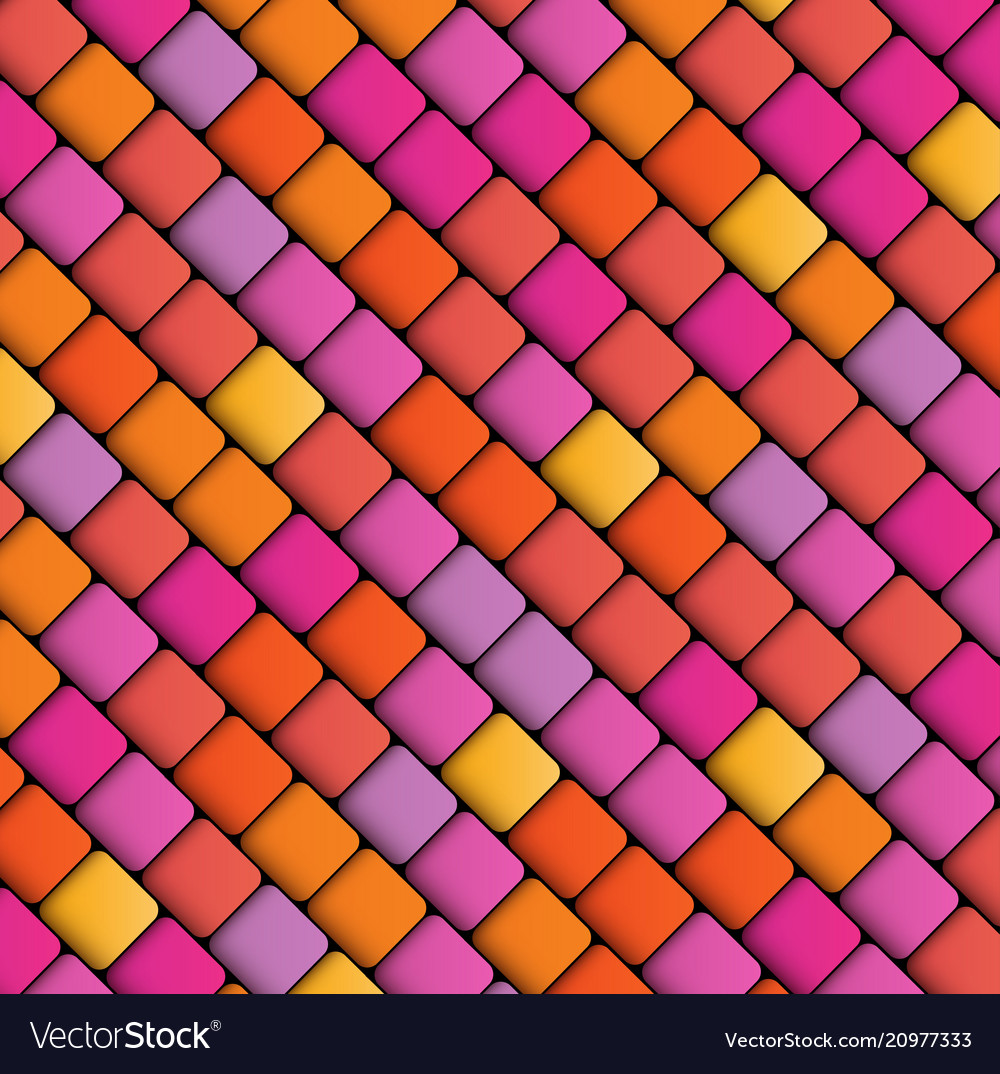 Abstract geometric background of squares