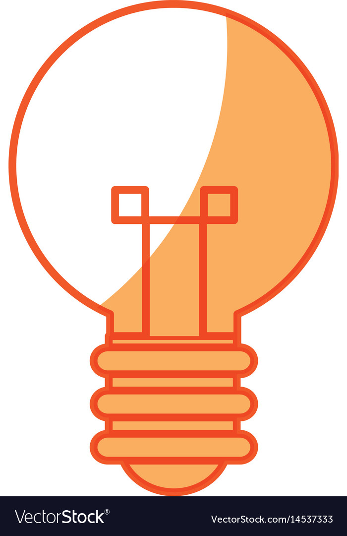 Bulb creative idea innovation icon