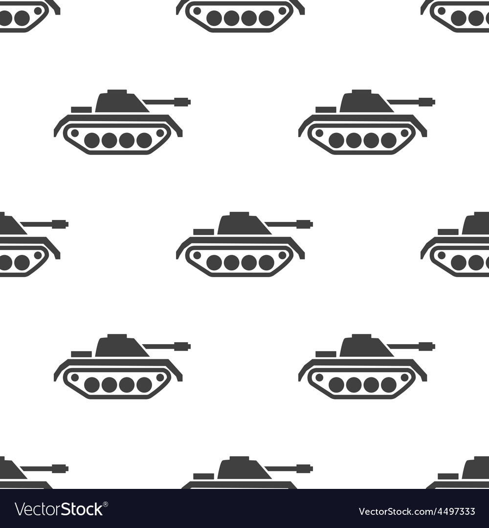Tank seamless pattern