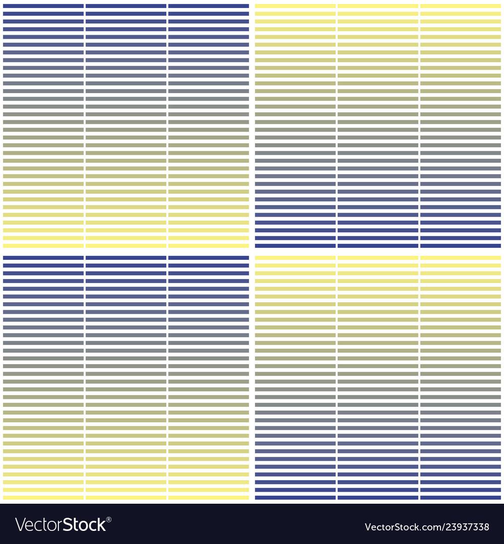Seamless geometric pattern with horizontal stripes