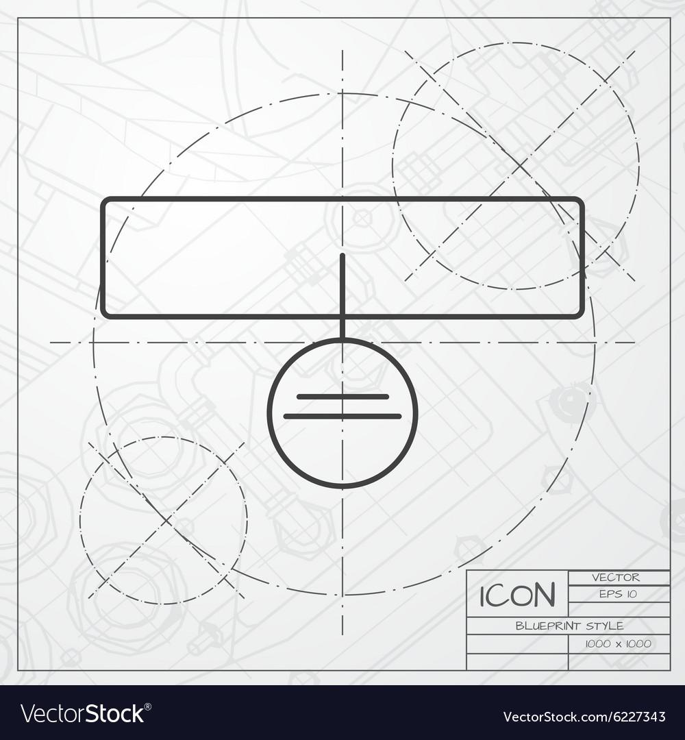 Collar vector image