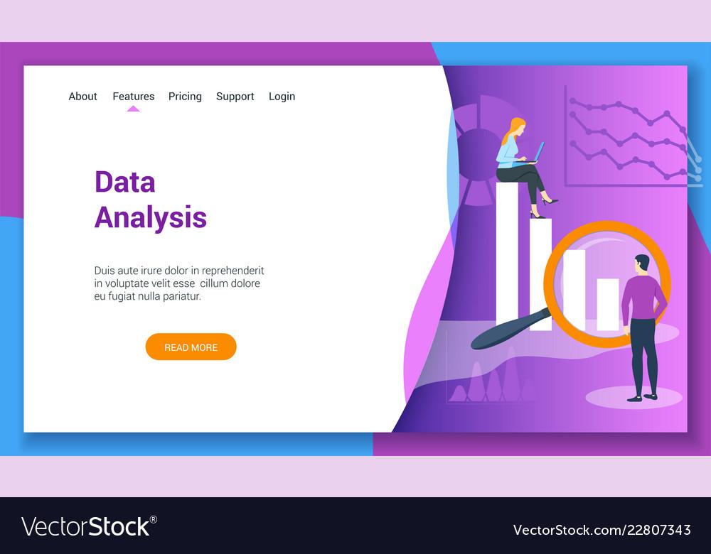 Concept on data analysis theme