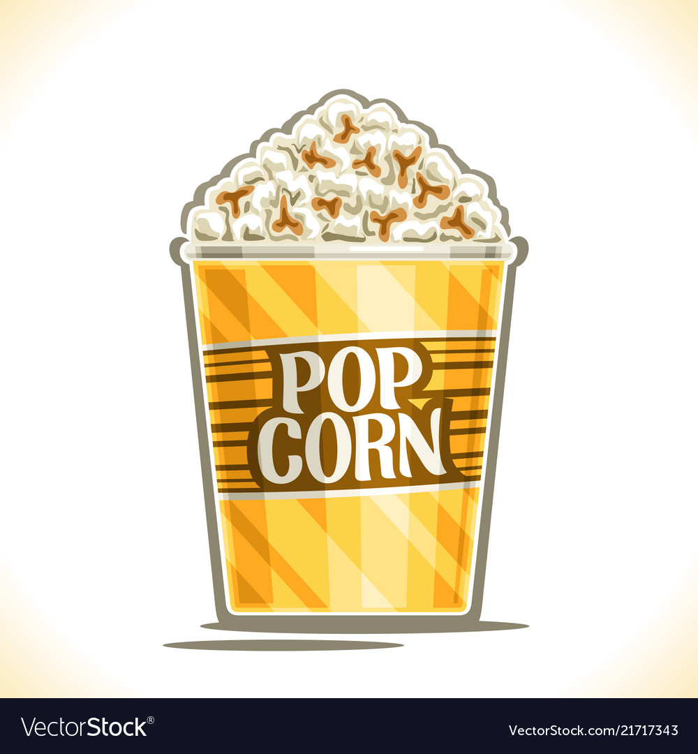 Poster for pop corn