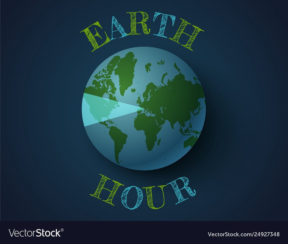March earth hour day