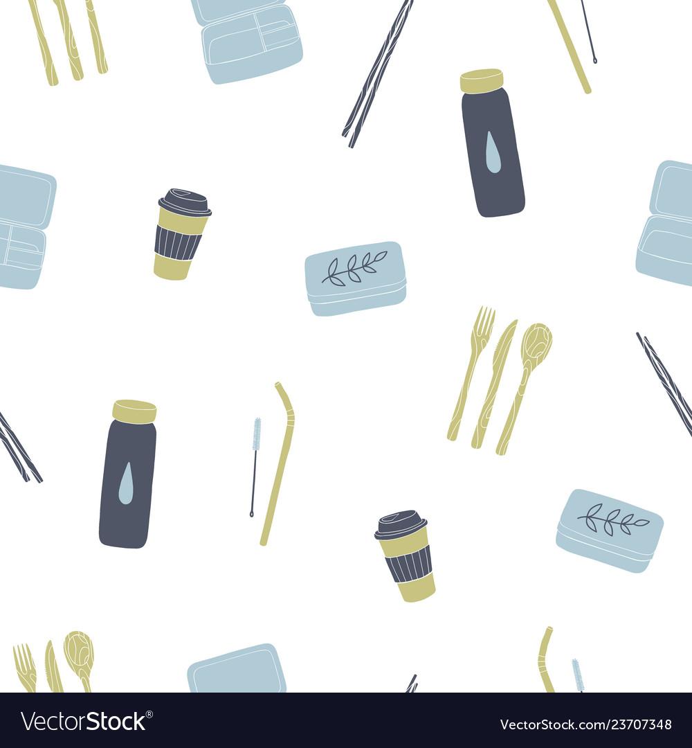 Zero waste reusable lunchbox cup utensils etc