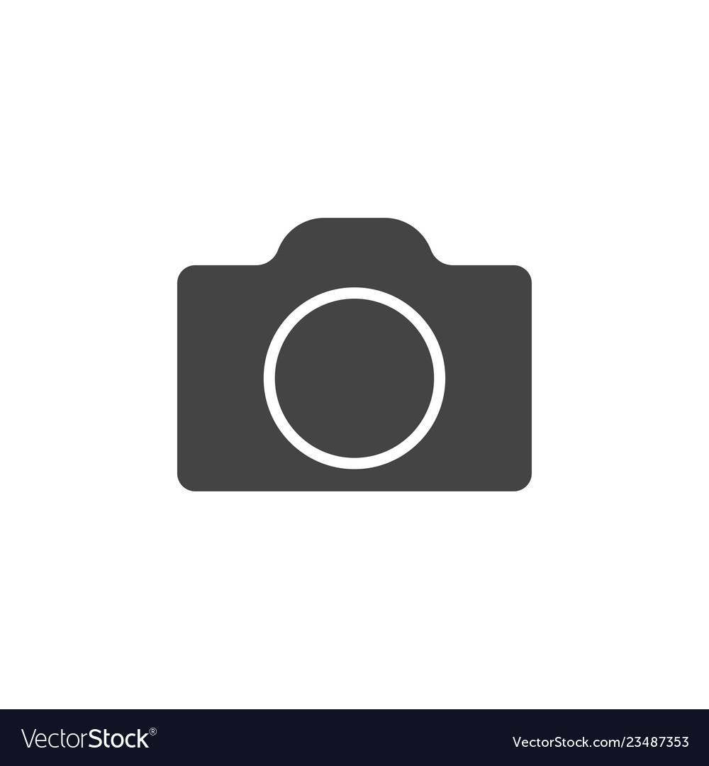 Camera icon graphic design template