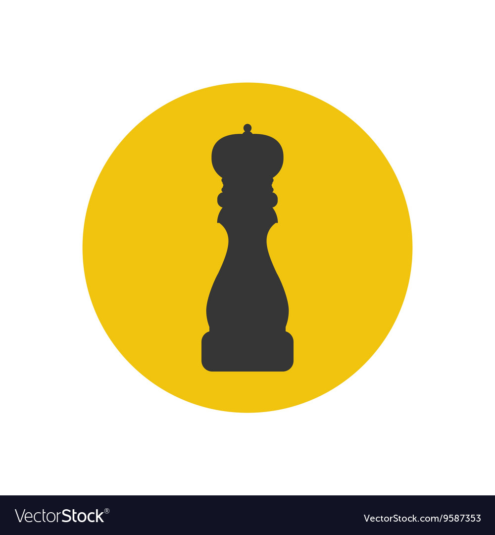 Pepper Grinder Spices Mill Silhouette Royalty Free Vector