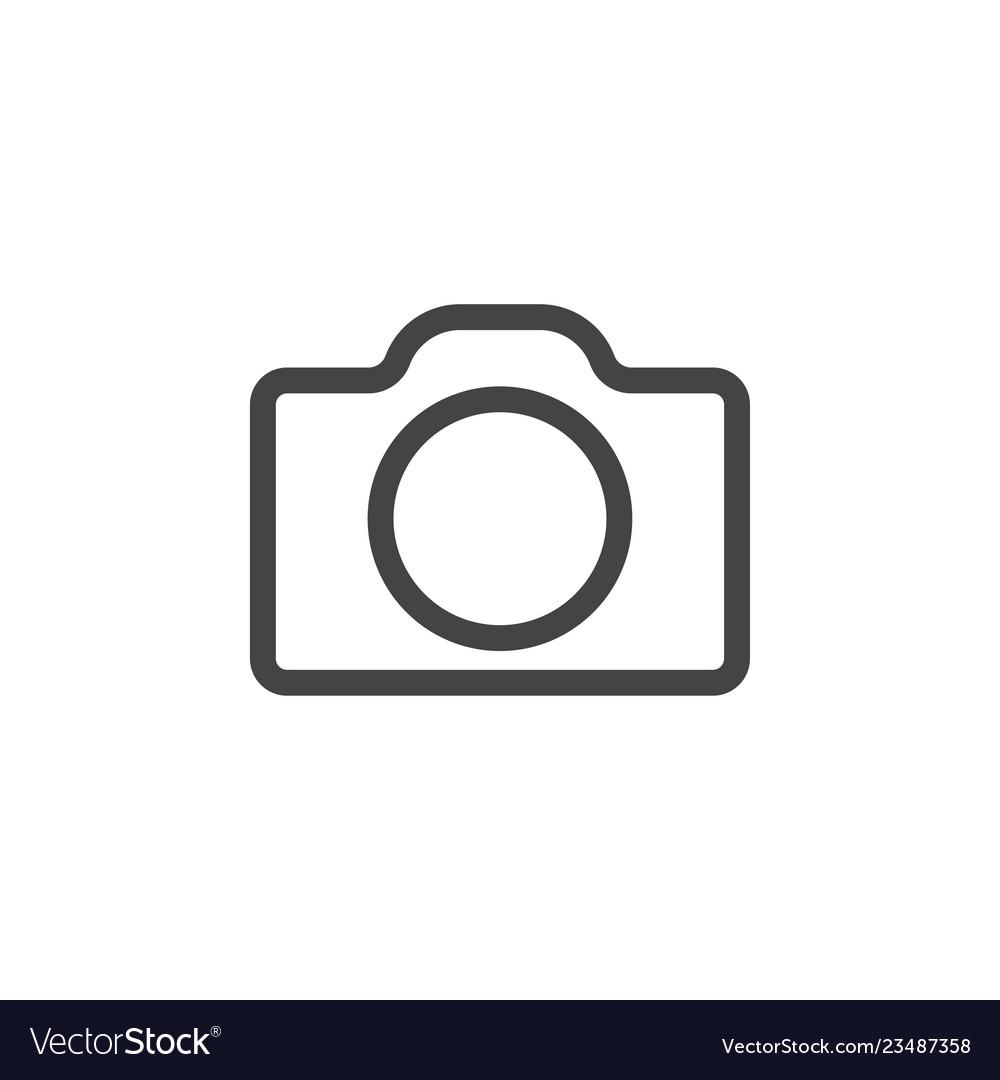 Camera icon graphic design template