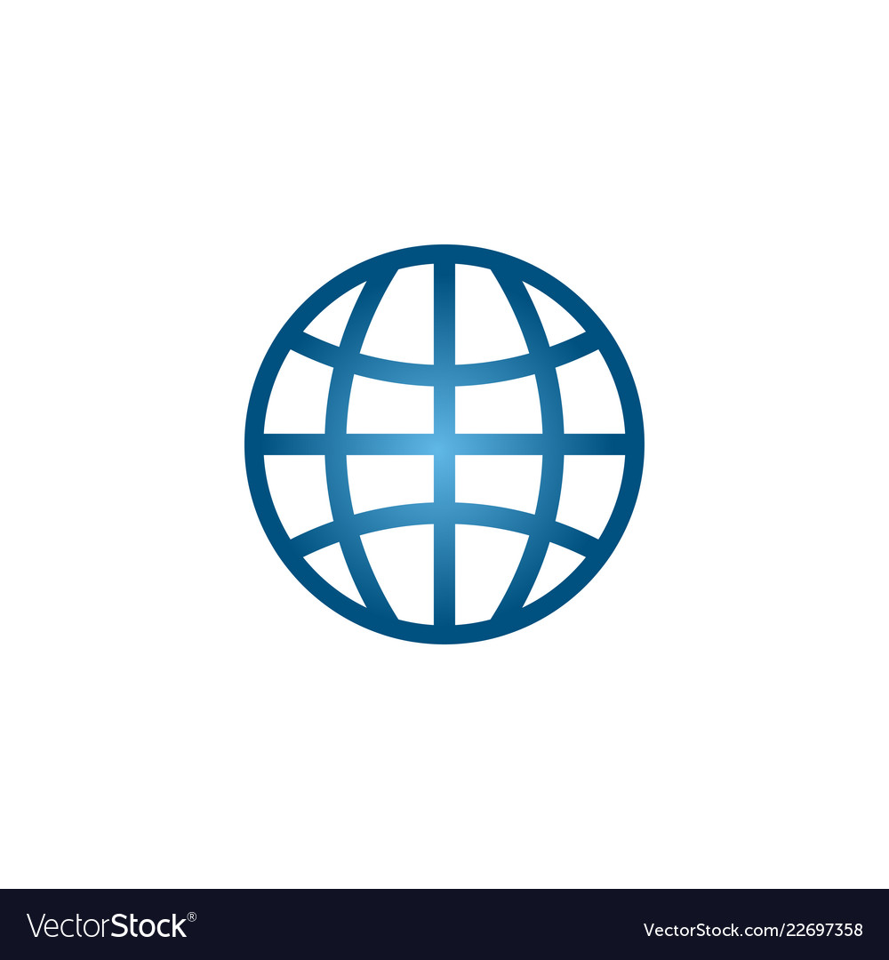 Internet symbol graphic design element template