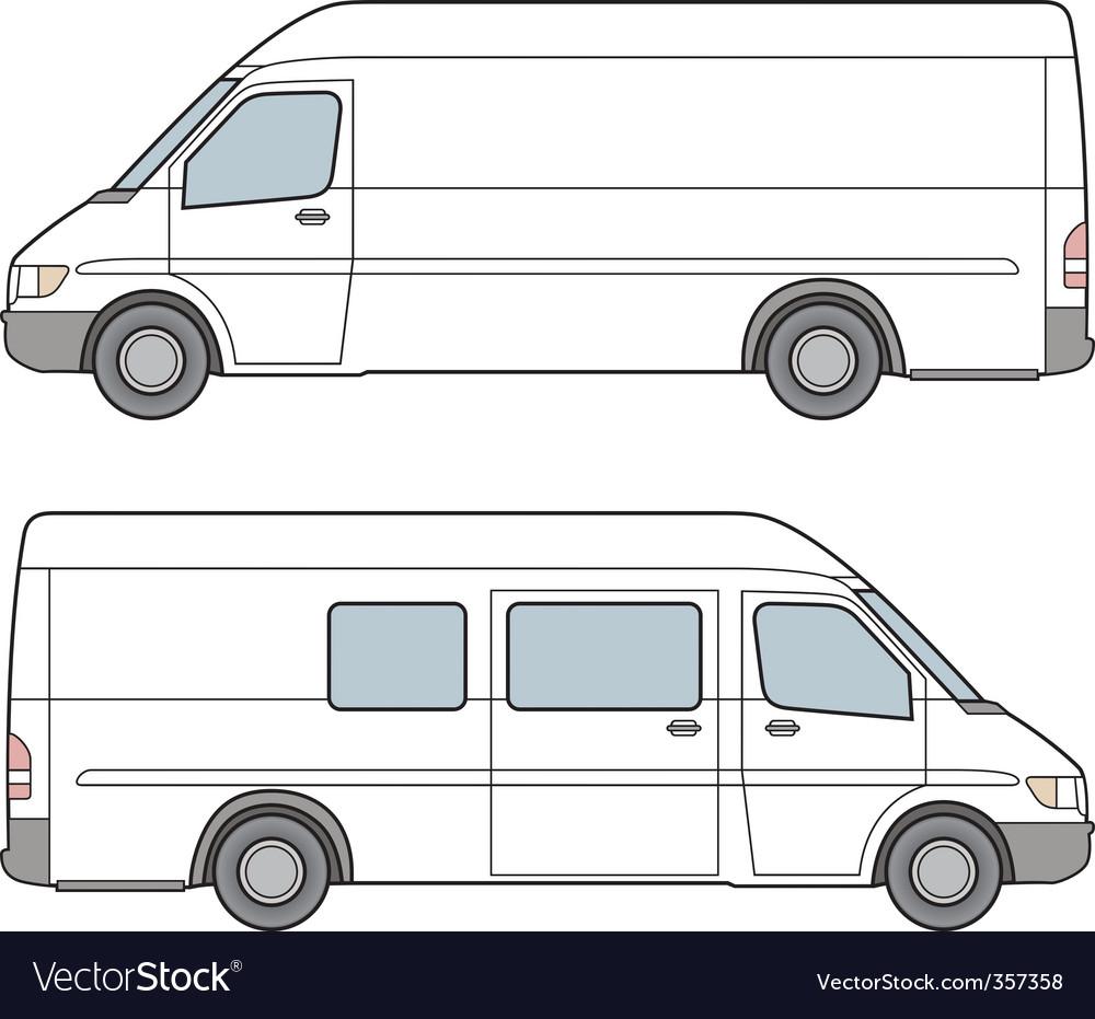 Minibus illustration