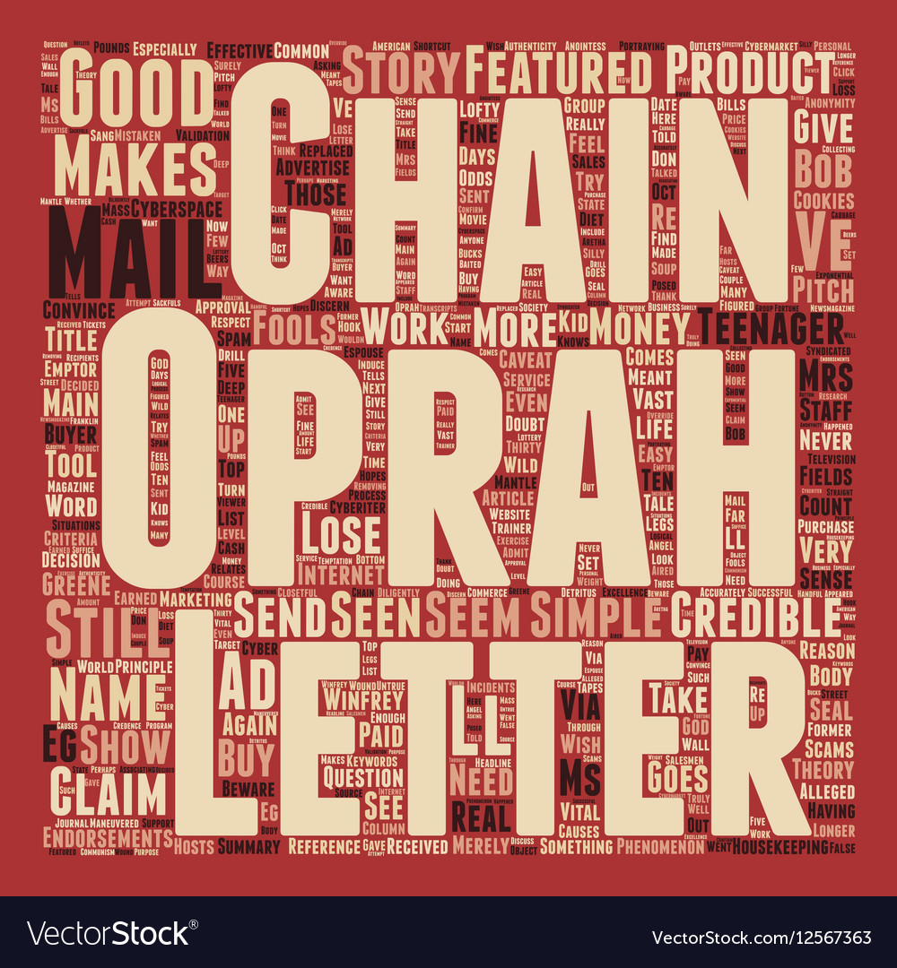 Chain of Fools text background wordcloud concept