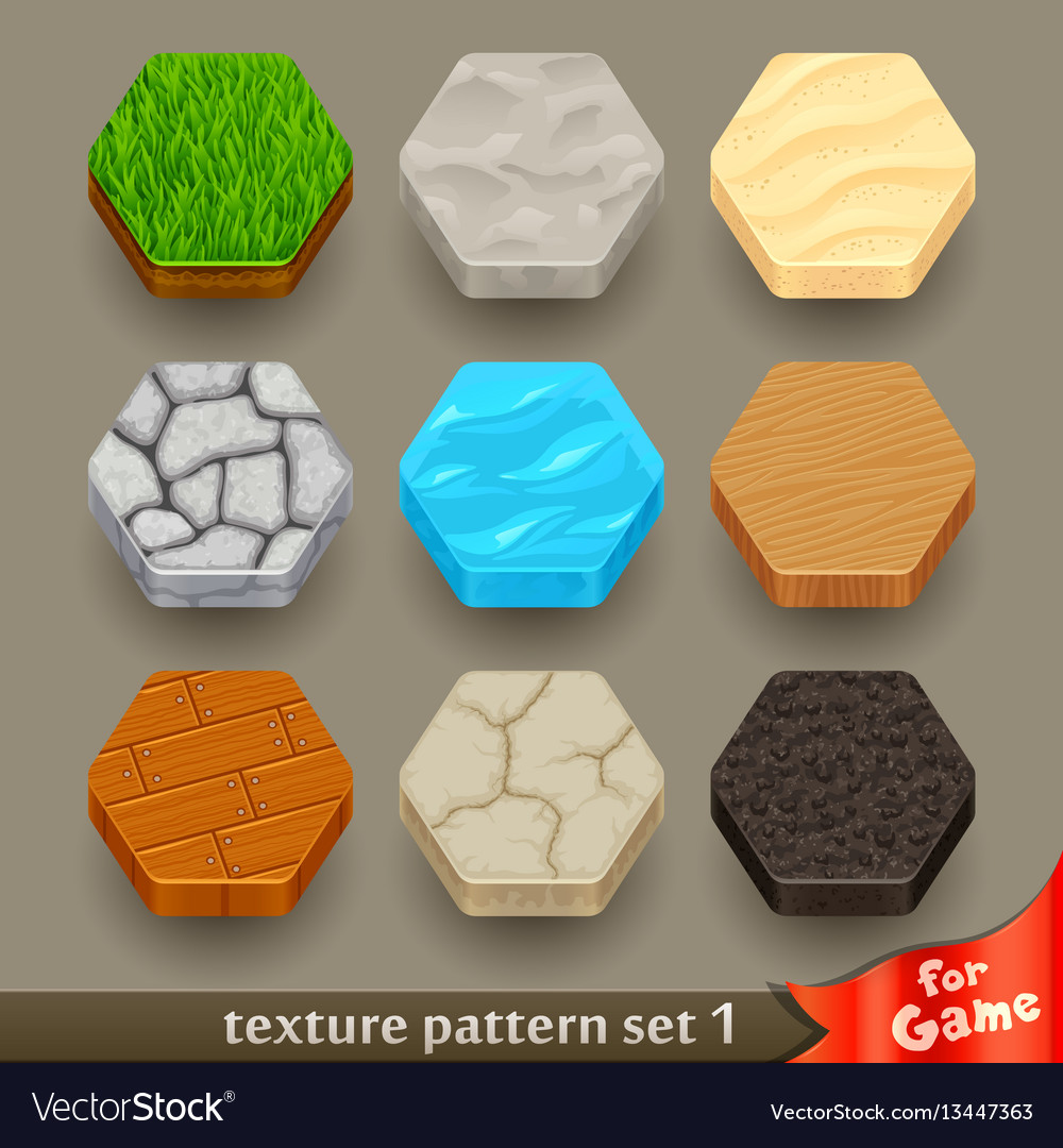 Ground texture patterns for game-set 1