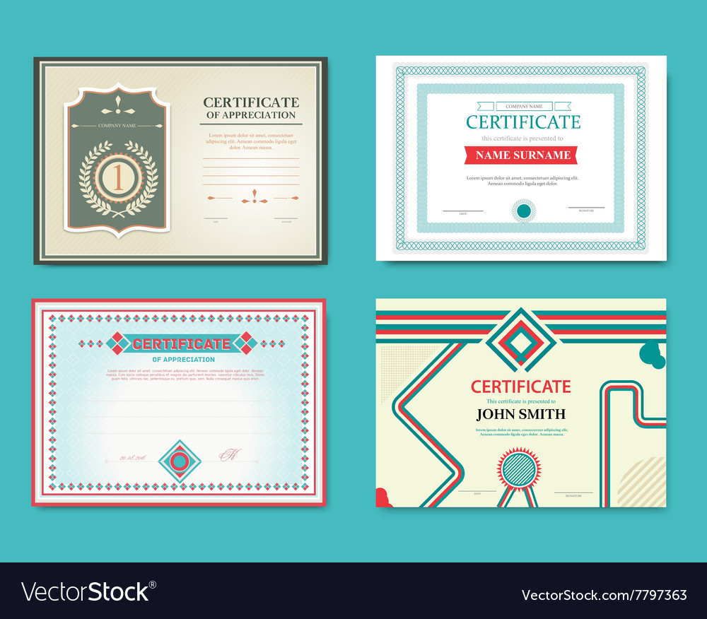 Set gift certificates great