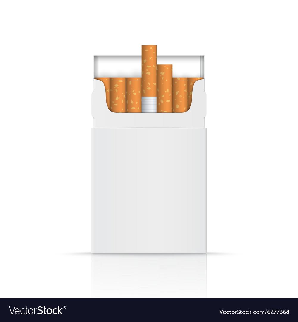 вместо пачки сигарет без картинок дрожжевое