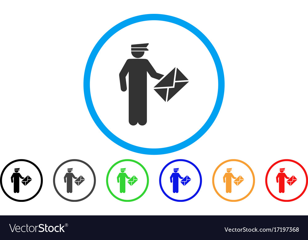 Postman rounded icon