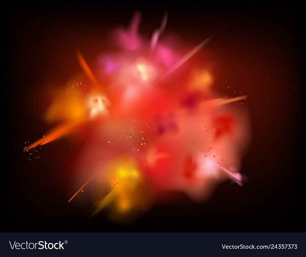 Abstract powder splatted background red powder