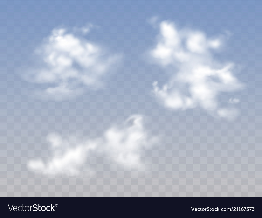Clouds in sky realistic