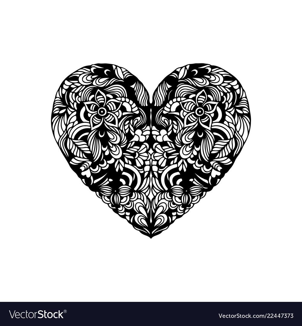 Heart shaped ornament