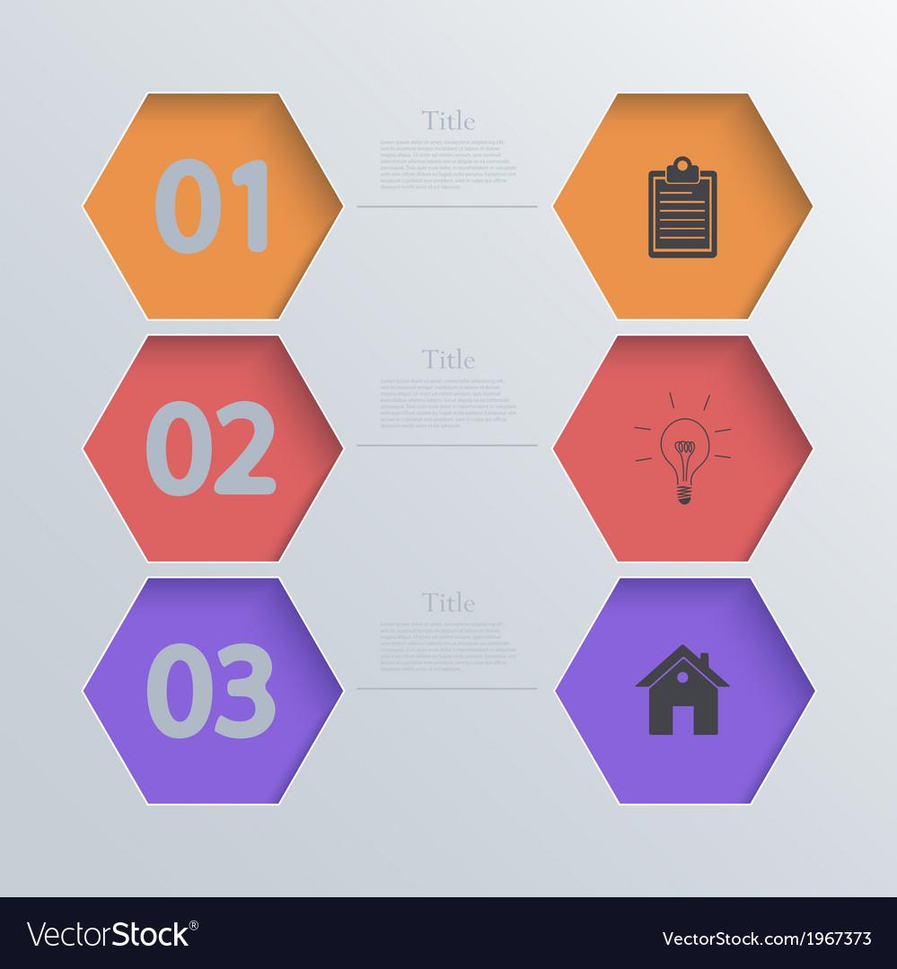 Modern infographic element design Eps 10