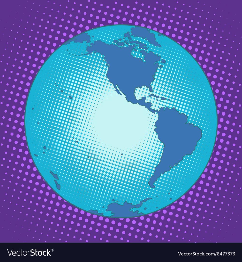Planet Earth Western hemisphere