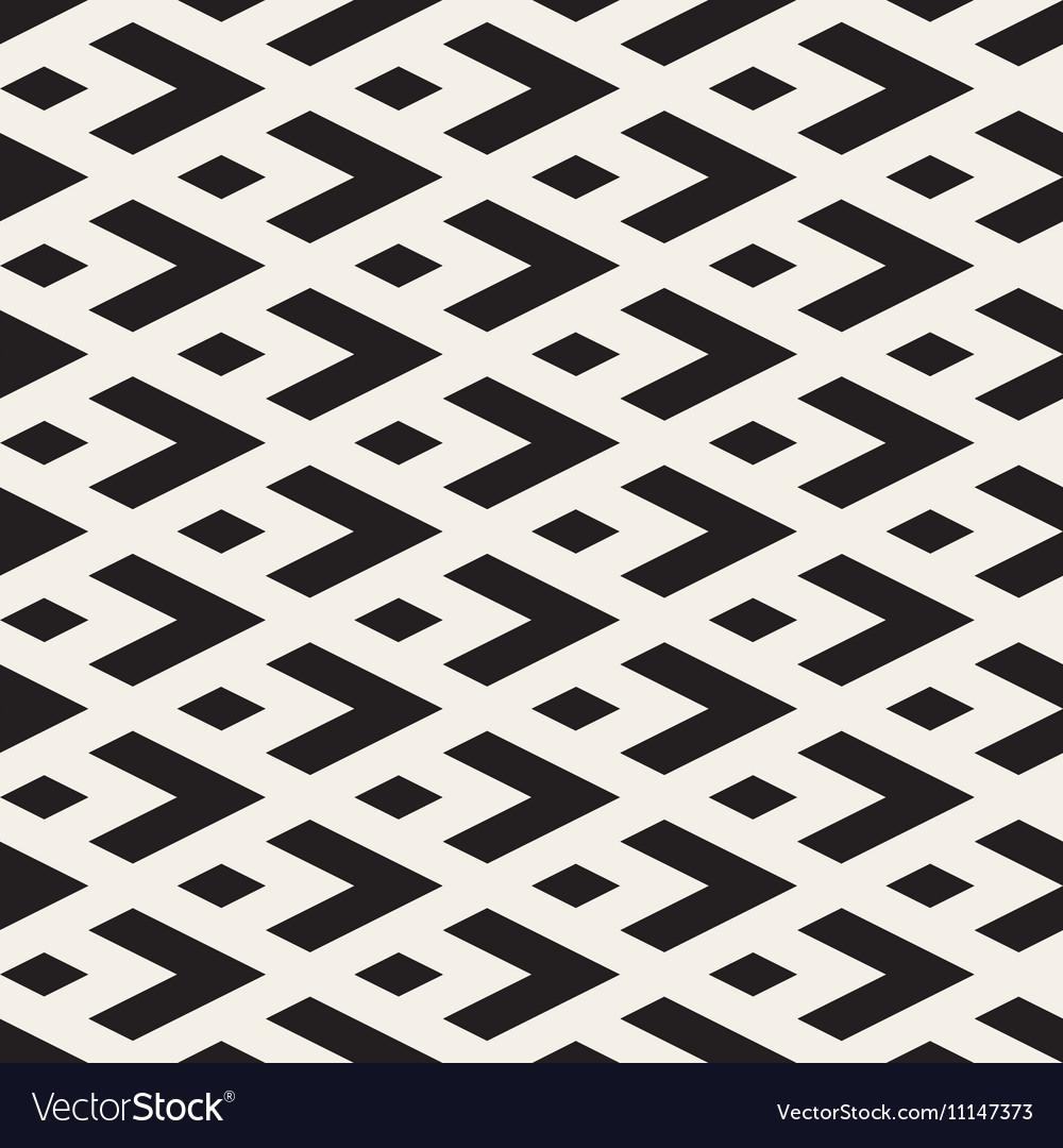 Seamless Geometric Tiling Pattern Royalty Free Vector Image
