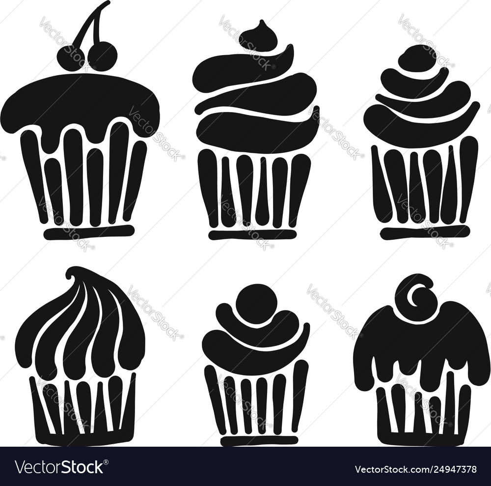 Cupcake collection for your design
