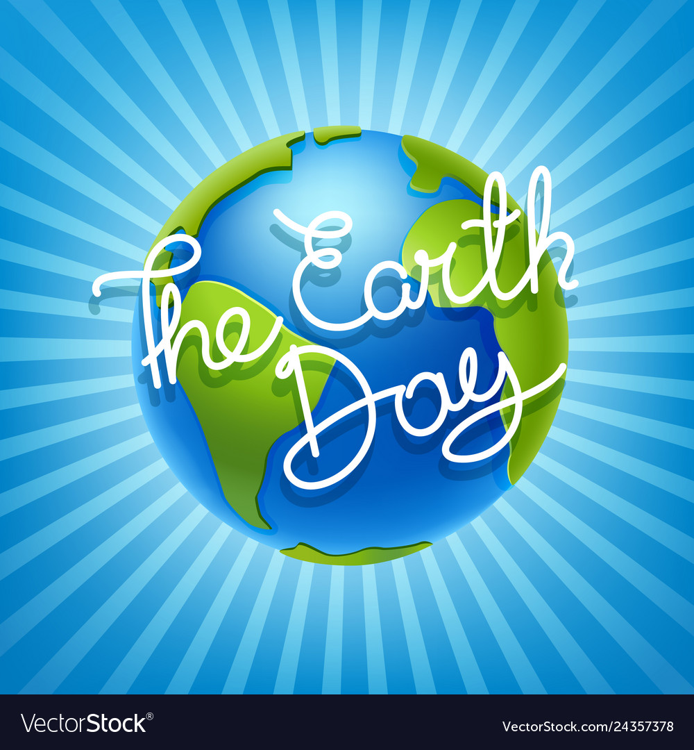 The earth day concept