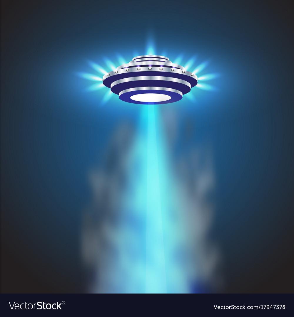 Ufo light alien sky beams ufo spaceship