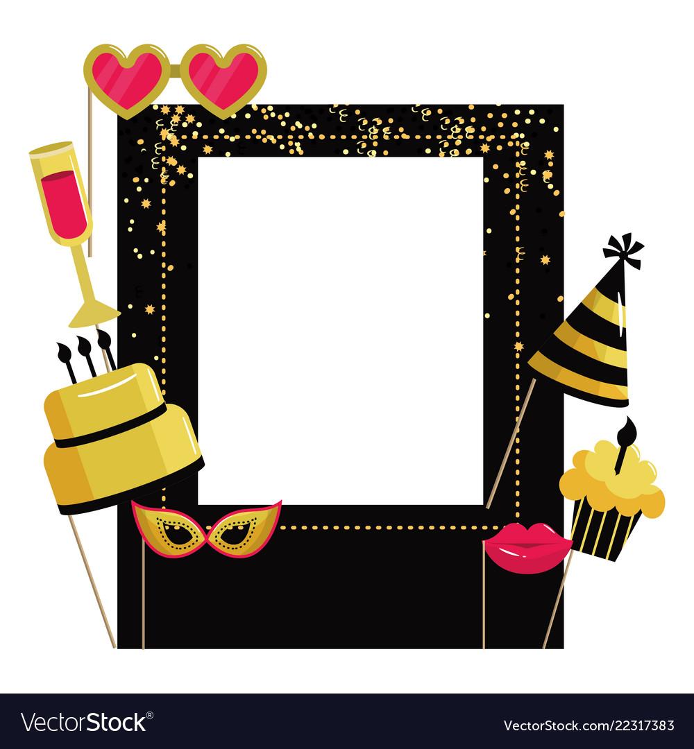 Happy Birthday Frame Vector Free Frameswallsorg