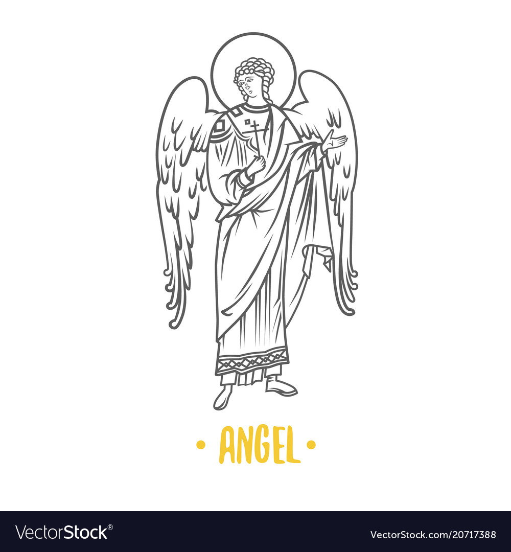 Angel god