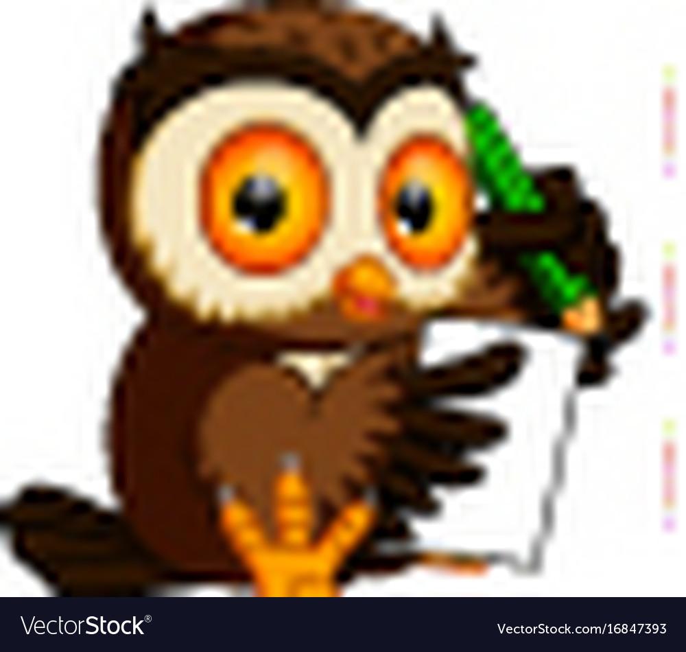 owl writing