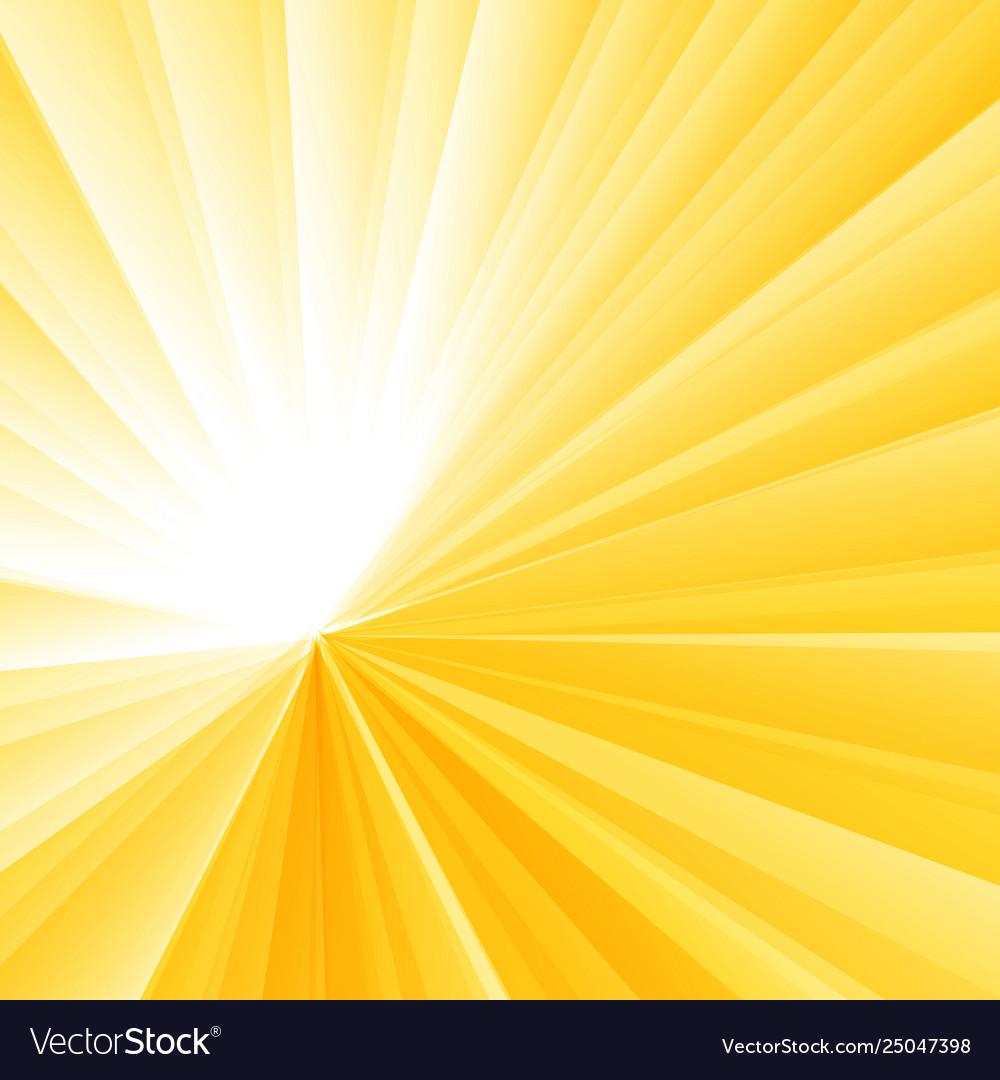 Abstract light burst yellow radial gradient